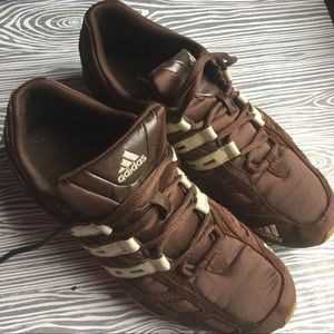 Brown Mens Adidas Sneakers Size 8.5